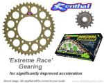 EXTREME RACE GEARING: Renthal Sprockets and GOLD Renthal SRS Chain - Aprilia RSV4/RSV4 Factory (2009-2010)